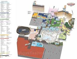 Las Vegas Strip Casino Map by Mandalay Bay Property Maps 3d Layout Map