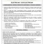 Apprentice Electrician Resume Samples by Engineer Recentresumes Com