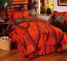 Orange Camo Bed Set Orange Camo Bedding Orange Comforter Store Browning