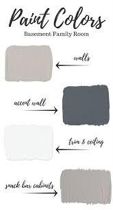 basement paint colors basements room and living rooms