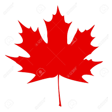 Canada Flag Colors Maple Leaf Clipart Canadian Flag Pencil And In Color Maple Leaf