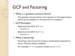 how to factor out the gcf of 12x 3 4x 2 8x and 5x 2y 2 15xy 2 20x 2y