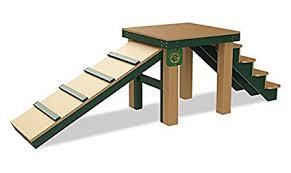 kirby built picnic tables amazon com top dog bridge stairs and r inground cedar