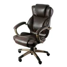 Memory Foam Butterfly Chair Z Line Designs Brown Leather Executive Office Chair Zl5010 01ecu
