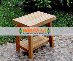 teak square spa stool furniture u2013 bathroom accessories teak
