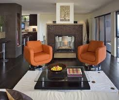 Orange Living Room Chair Home Design Ideas - Accent living room chair