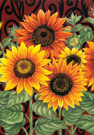 Fall Flags Yard Amazon Com Toland Sunflower Medley Decorative Summer Fall