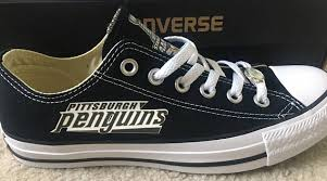 pittsburgh penguins converse chuck taylor sneakers nhl