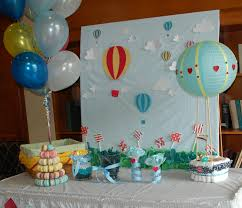 travel themed baby shower tangled threads by jen hot air balloon baby shower