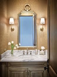 Powder Room Wallpaper by Silverleaf Family Dwelling U2039 Kim Scodro Interiors Bathrooms