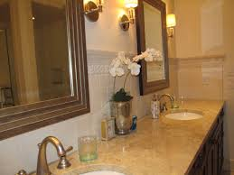 Bathroom Vanity Backsplash Ideas Custom Master Bath Vanity Backsplash Artarry Builders