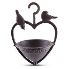 buy cast iron hanging bird feeder garden ornament from our