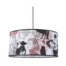 luminaire chambre ado suspension tendance pour ado imprimé starlet usa sur le avenue