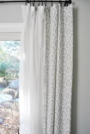 Hanging Rod Pocket Curtains With Rings Eight More Living Room Curtains Young House Love