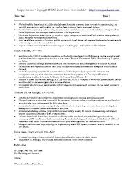 Good Resume Introduction Examples by Examples Of Marketing Resumes Event Marketing Resume Example