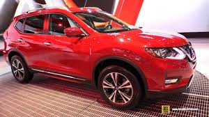 nissan rogue 2017 interior 2017 nissan rogue sv awd exterior and interior walkaround 2016