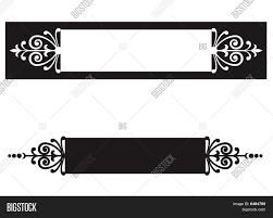 ornamental scroll border nameplate image cg6p484790c
