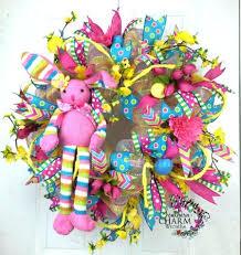 deco mesh ideas creative deco deco mesh wreath 40 creative diy easter wreath ideas