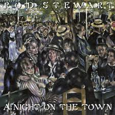 town photo albums a on the town rod stewart album