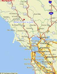 concord california map santa rosa california map