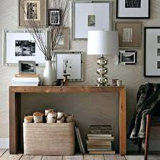 console table decor ideas houzz console table interior design for industrial console table