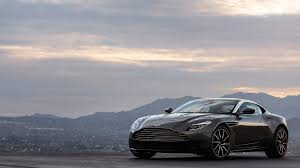 aston martin db11 brand new 2017 aston martin db11 front side view 3 sssupersports