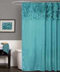 Dainty Home Flamenco Ruffled Shower Curtain Turquoise Lillian Shower Curtain For The House Pinterest