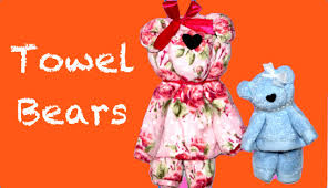 towel bear towell crafts youtube