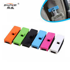 reglage siege auto car seat belt clip auto fastener safety belt buckle elasticity