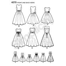 pattern for miss u0026 miss petite special occasion dresses simplicity