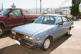 hatchback cars 1980s old parked cars 1980 datsun 510 5 door liftback