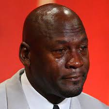 Watery Eyes Meme - the evolution of the michael jordan crying face meme the two way npr
