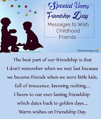 wedding wishes for childhood friend 41 best friendship day messages images on friendship