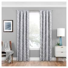 White Eclipse Blackout Curtains Light Gray Blackout Curtains Target