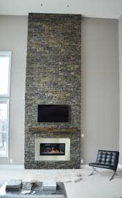 stone fireplace renovation interiors by color