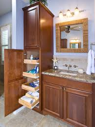 bathroom cabinets tall slim cabinet bathroom wall storage