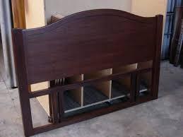 mahogany headboard king platform bed king tiger mahogany mahogany