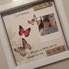 remembrance picture frame memorial frame bereavement gift memory keepsake present for