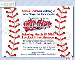 baseball themed baby shower invitations baseball themed baby