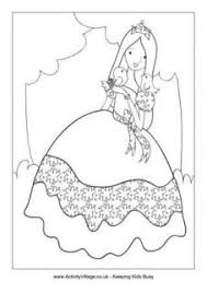 princess colouring pages knight fighting dragon coloring