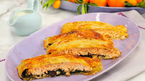 puff pastry wrapped salmon food network