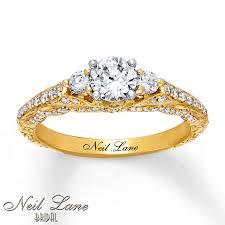 neil engagement neil engagement ring 1 ct tw diamonds 14k yellow gold
