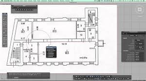 Auto Cad Floor Plan by Scale Image For Tracing In Autocad For Mac Youtube