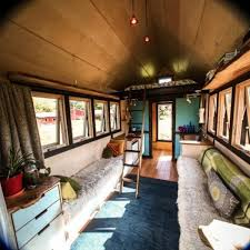 Interior Design Ideas For Mobile Homes Small Mobile Home Created With Salvaged Wood