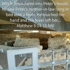 mother in law house peters mother in laws house in israel bible verses pinterest