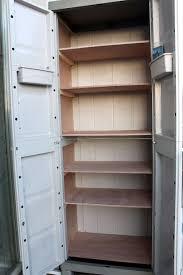 Plastic Cabinets Plastic Cabinet Re Make 4 Steps