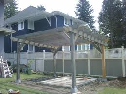 Pergola Rafter Tails by Pergola Carpentry Picture Post Contractor Talk