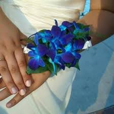Blue Orchid Corsage 101 Best Flowers For Prom Images On Pinterest Prom Flowers
