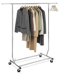 closet pole hanging shelves