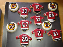 chicago blackhawks cookies these will be the christmas cookies i